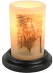 seasonal candle sleeves winter 2017