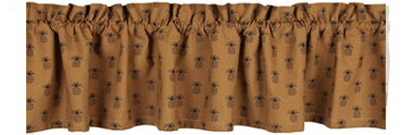 Pineapple Town Valance