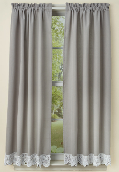 Farmhouse Curtains The Country Village Shoppe
