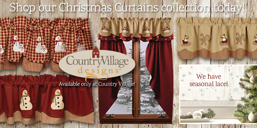 Country Style Curtains Country Kitchen Curtains Primitive Country Drapes