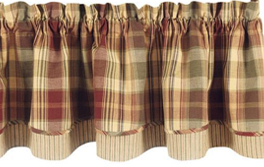 country style curtains  country kitchen curtains  primitive, Bedroom decor