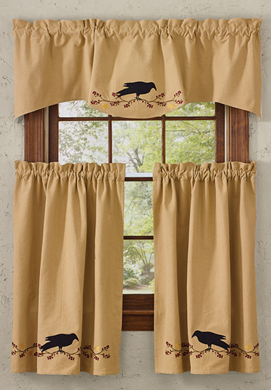 Primitive Country Curtains The, Primitive Curtains For Living Room