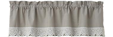 Vintage Crochet Lace Valance